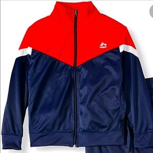 RBX Red/White/Blue Tricot Fleece Lined Jacket